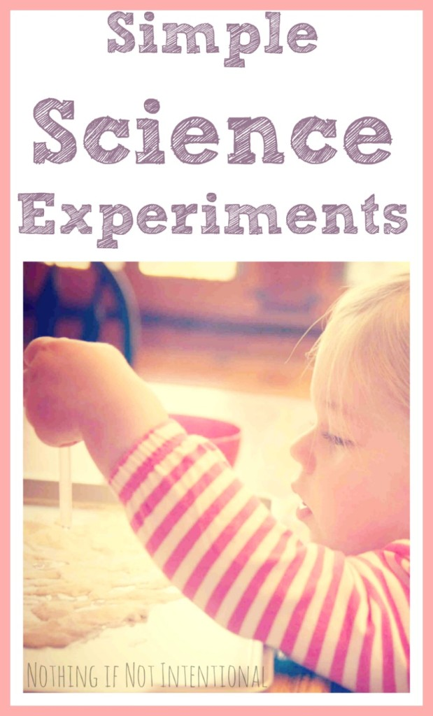This kept our two-year-old engaged for an hour! Simple science experiment using household ingredients.