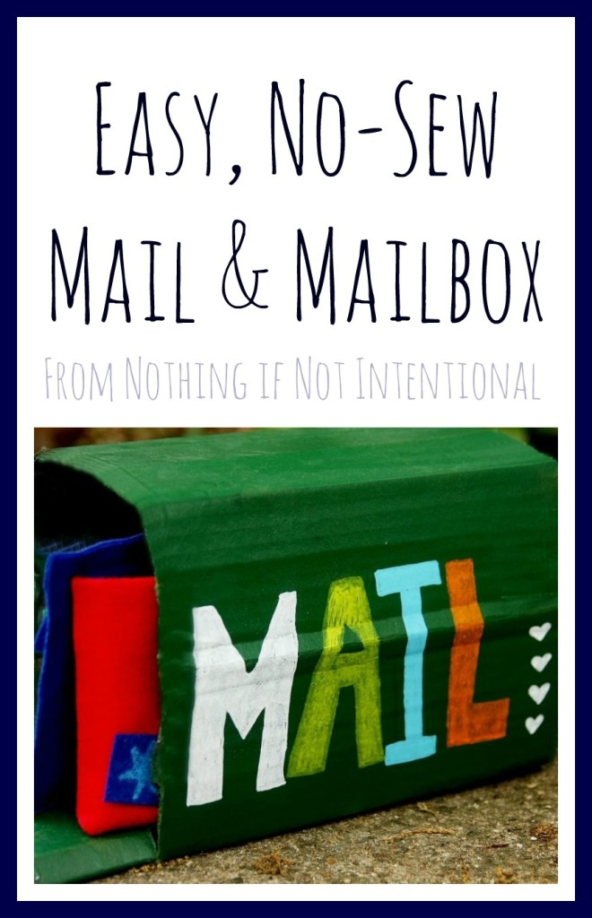 No-Sew Mail and Mailbox
