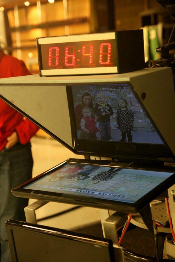 preschool field trip news station
