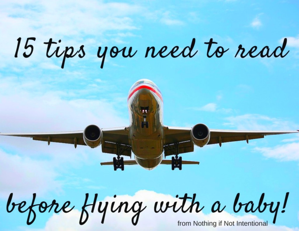 What to know before flying with a baby