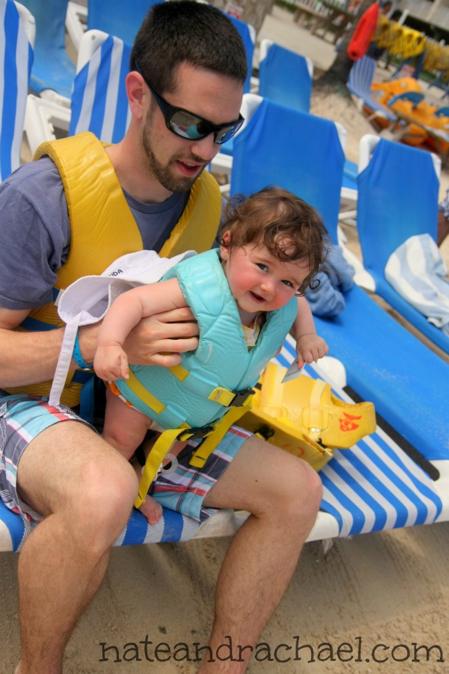 Baby beach bum--The best tips for taking baby to the beach!