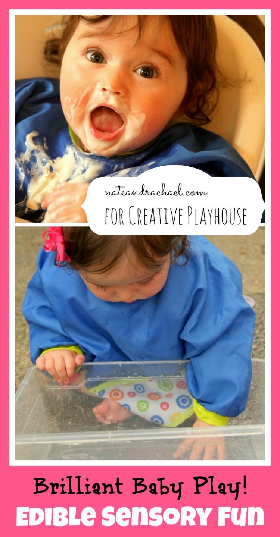 Edible sensory play