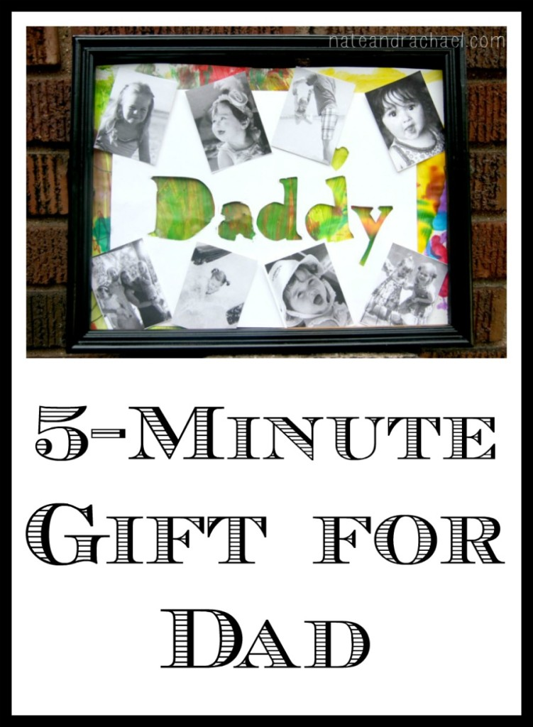 Turn your child's artwork into an awesome gift for dad!
