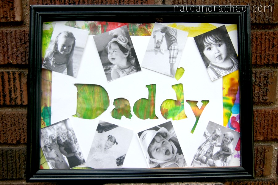 5 minute diy gift for dad