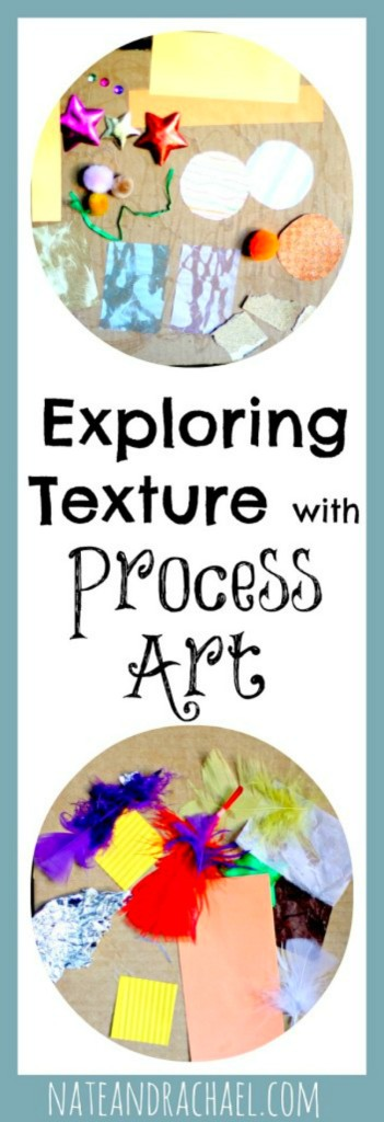Craft ideas for kids--exploring texture (from Nothing if Not Intentional)