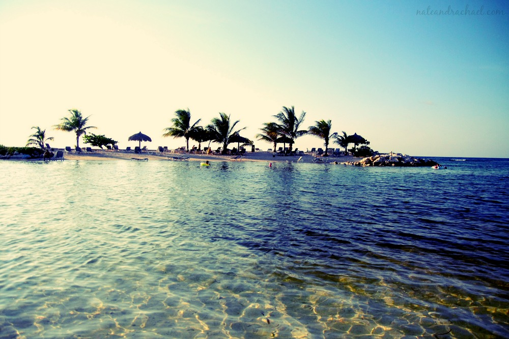 Relax on the beaches of Montego Bay, Jamaica.