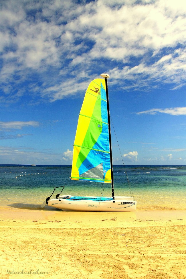 Explore the beaches of Jamaica with kids.