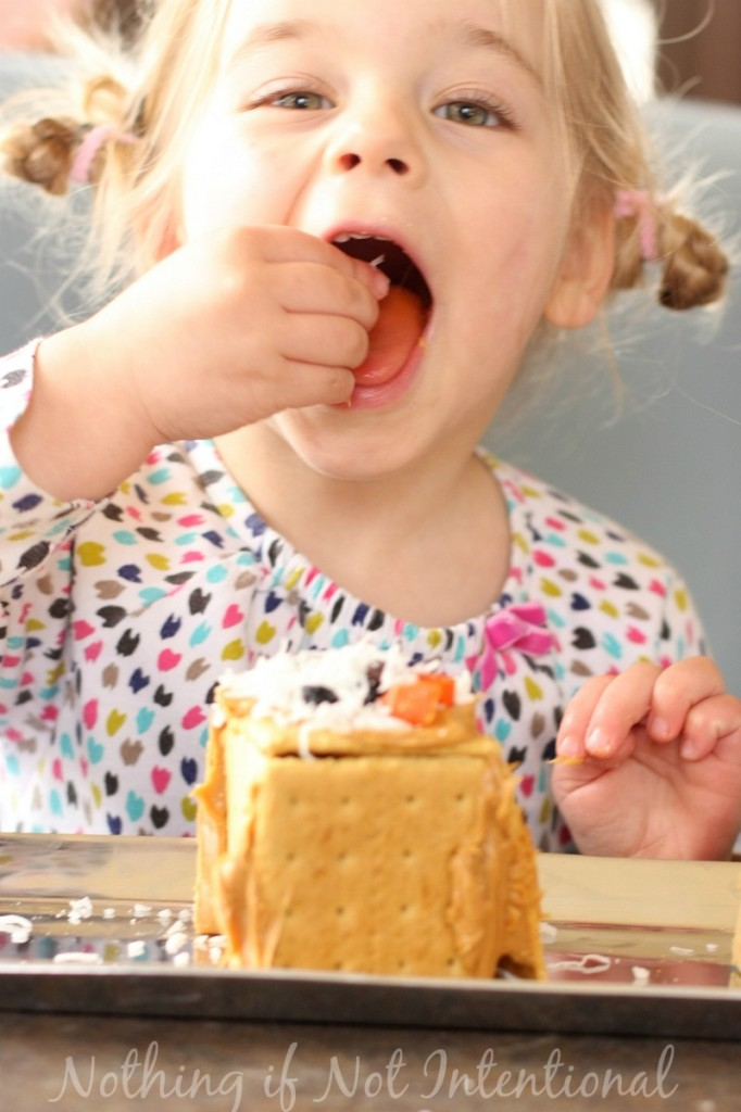 Healthier Gingerbread Houses--all the fun without the sugar crash!