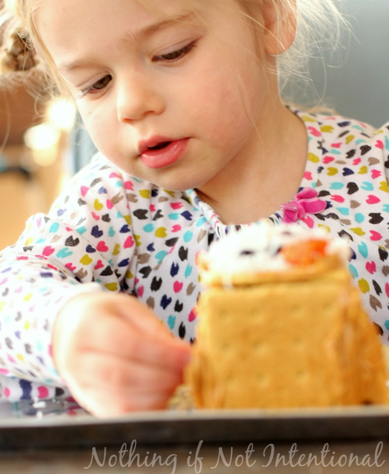 Healthier Gingerbread House Decorating--all the fun without the sugar crash.