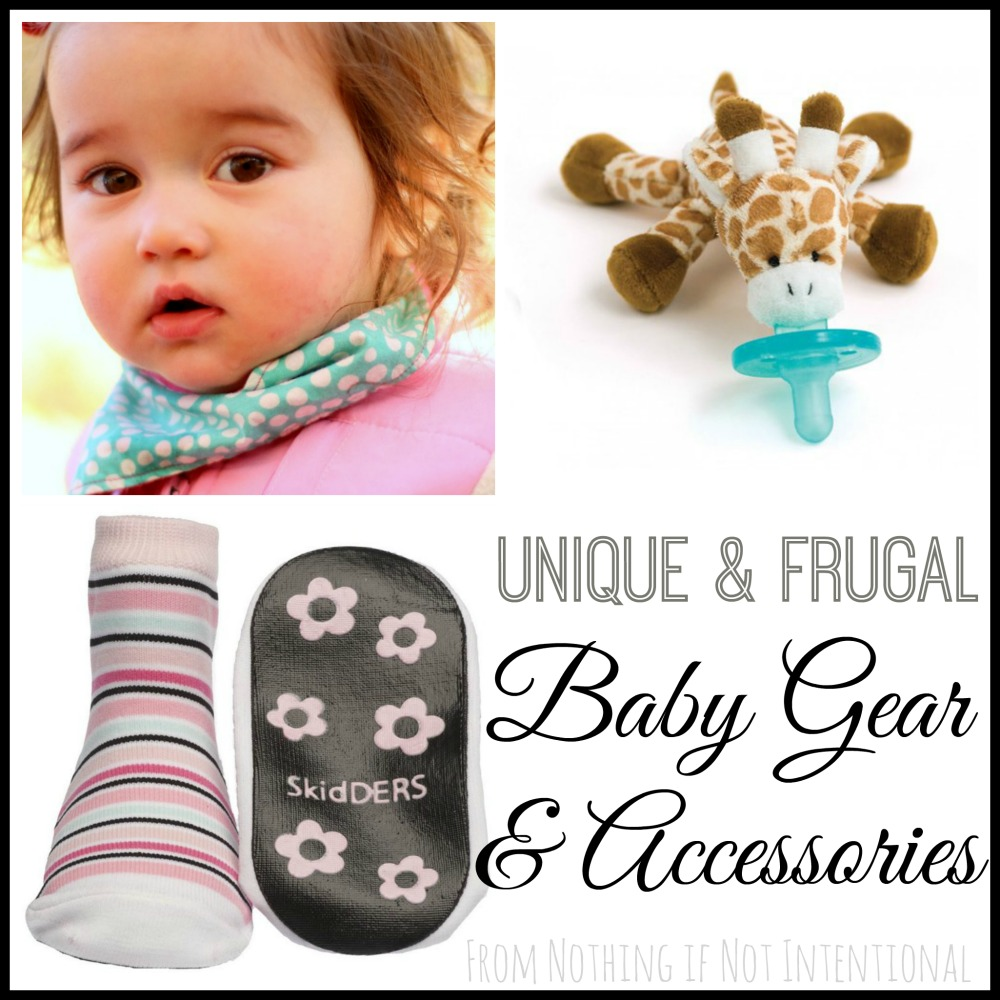 Unique gift ideas for babies -- baby gear and accessories