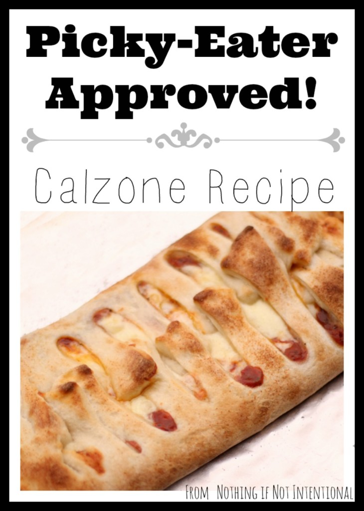 Easy Calzone Recipe--great meal to bring when a friend need a meal (like when a new baby comes home)!