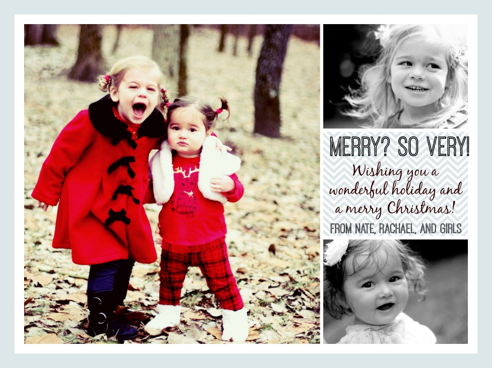 Merry Christmas from Nate and Rachael!