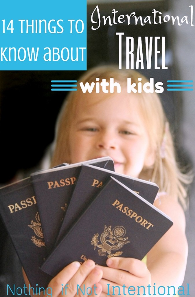 Grab the passports! International travel with kids doesn't have to be intimidating!