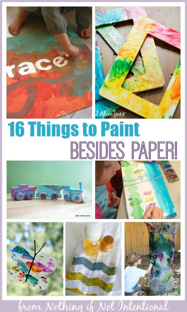 16 things to paint besides paper out of the ordinary for Cool things to paint