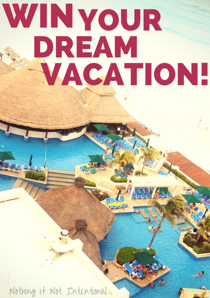 Enter to win your dream vacation!