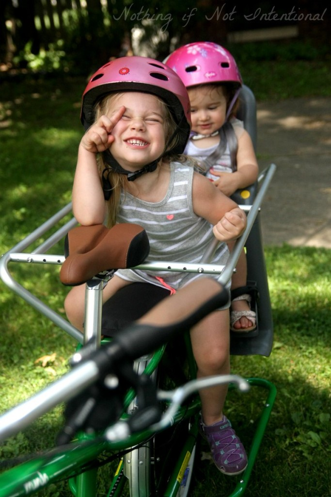 Bike safety tips for kids and families. We struggle with #3! How about you?