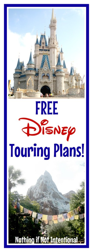 Sample schedules for Magic Kingdom and Animal Kingdom--perfect for families with young kids!