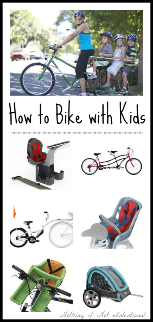 A Guide to Biking with Kids. We obsessively researched the options so that you don't have to!
