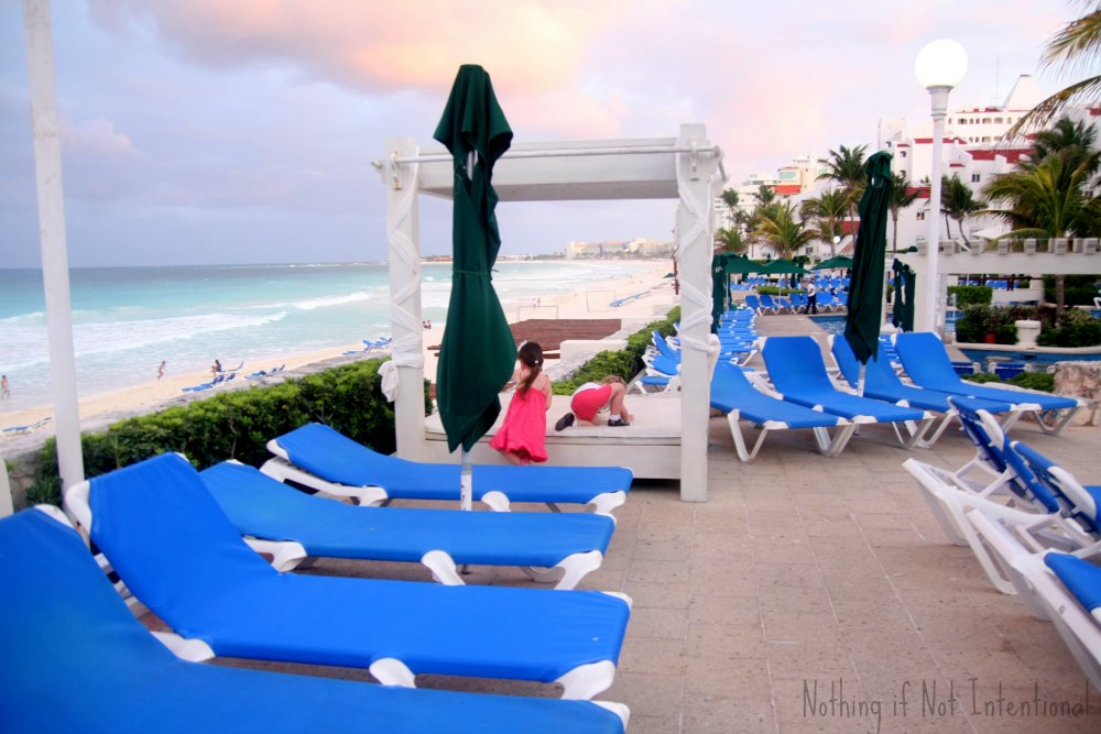 Vacationing with Kids in Cancun Mexico