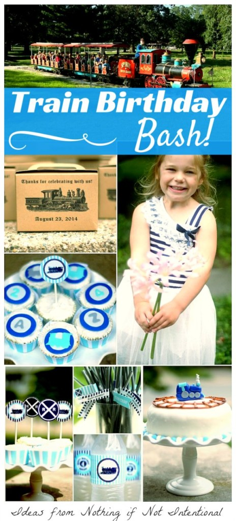 Ideas for a Train Birthday Bash