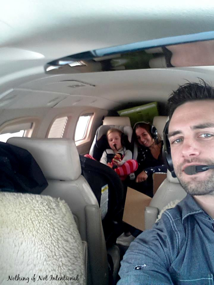 Nothing if Not Intentional--Flying with Kids