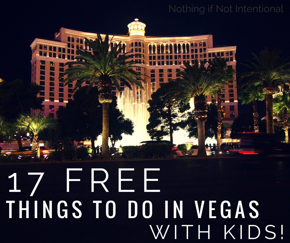 17 free things to do in Las Vegas with kids!