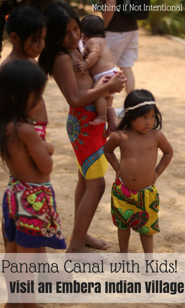 Cruise to the Panama Canal with Kids! Visit an Embera Indian Village