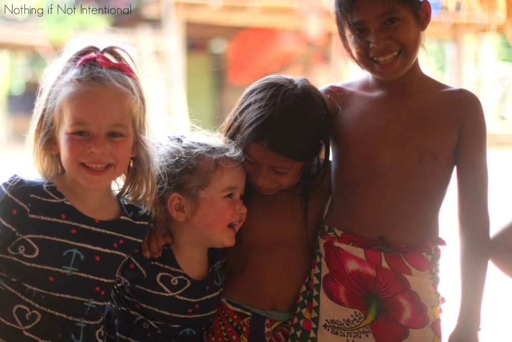Visiting an Embera Indian Village in Panama with Kids