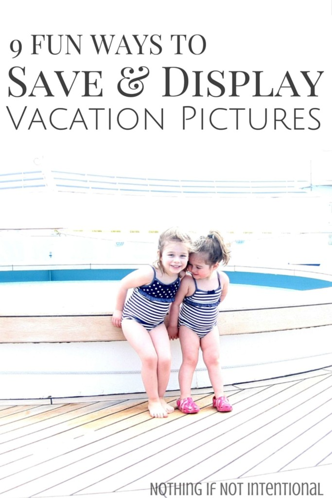 9 beautiful ways to display your vacation pictures!