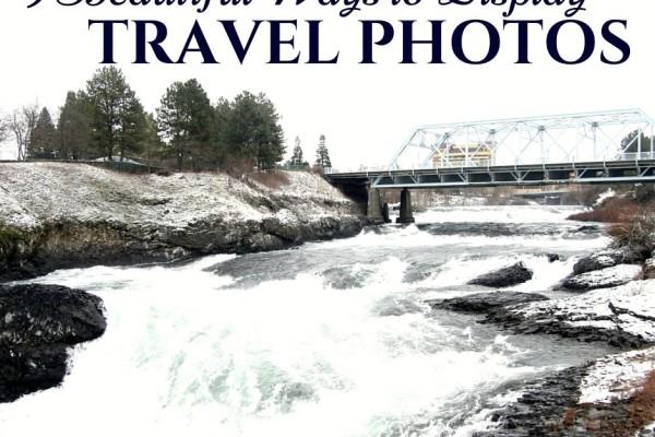 9 ways to display travel photos