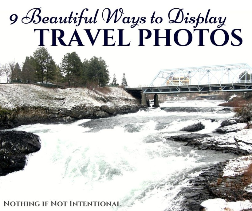 9 ways to display travel photos