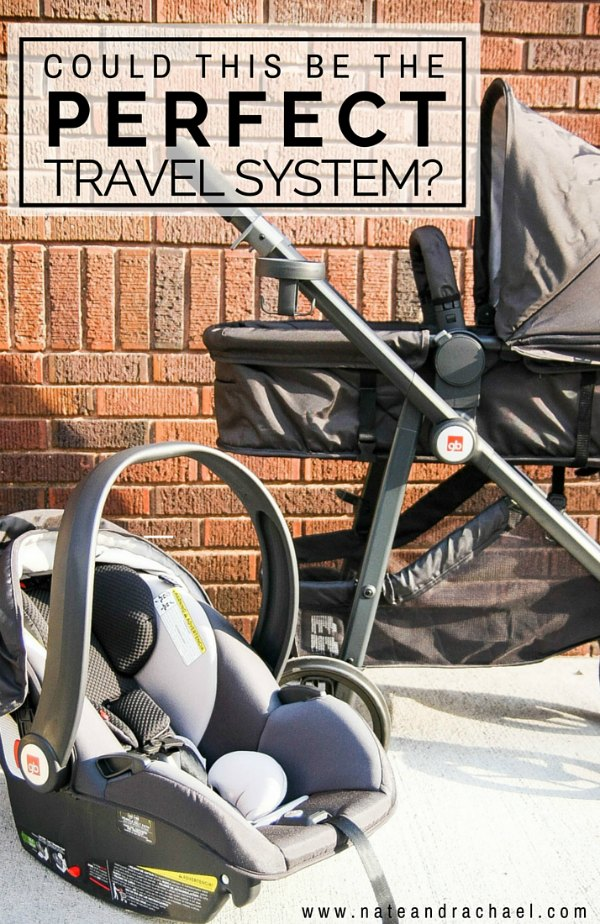 Infant car seat, reversible stroller, and pram in one! GB Lyfe Pram Travel System