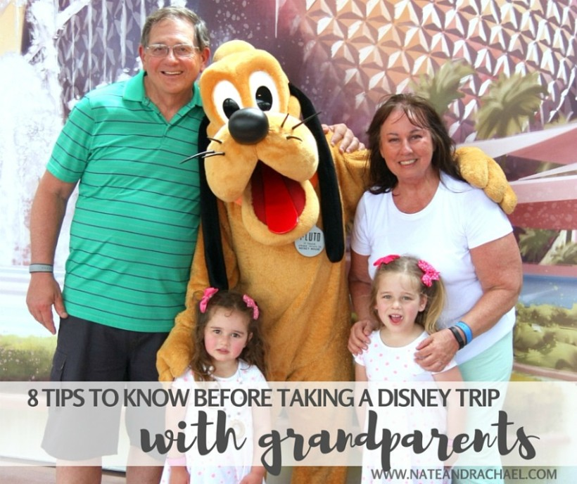 8 things to know before taking a Disney trip with grandparents