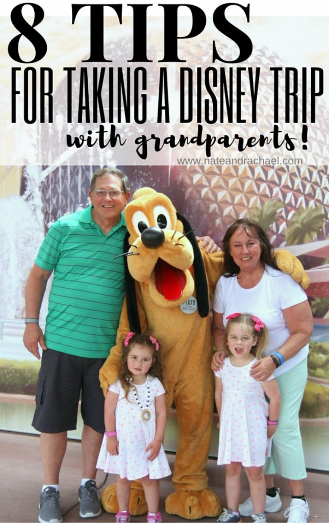 8 must-read tips for taking a disney trip with grandparents!
