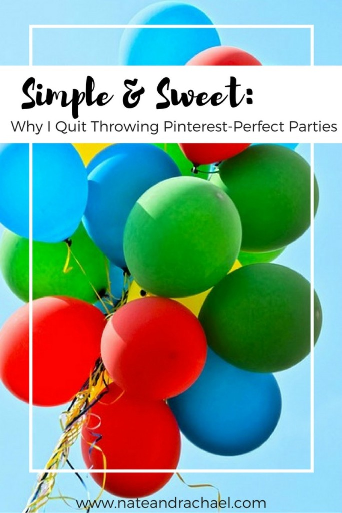 Simple and Sweet-The Secret to Throwing a Perfect Birthday Party