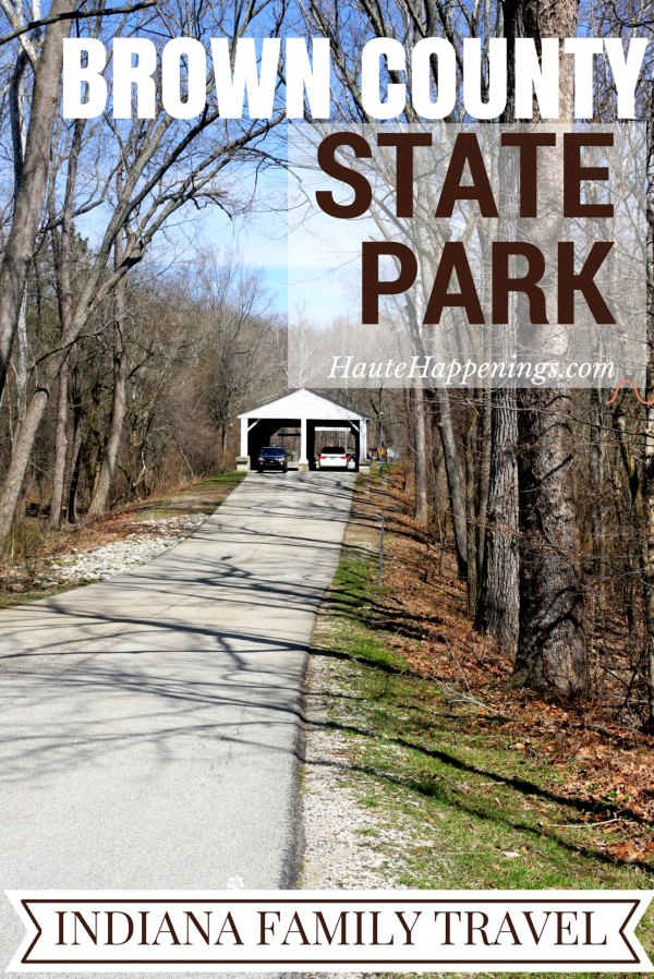 Cabins water slides trails and more things to do in for Ponte coperto cabina brown county