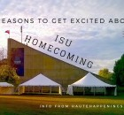 3 reasons to get excited about homecoming events at Indiana State University