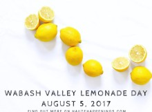 Wabash Valley LEmonade DayAugust 5, 2017