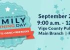 Vigo County Public Library Family Learning Day