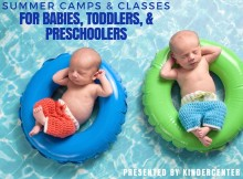 Summer Classes for Babies, toddlers, and preschoolers in Terre Haute and the Wabash Valley