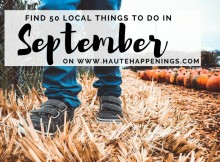 50 things to do in september in Terre Haute and the Wabash Valley