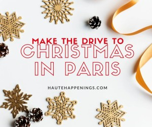 Make the drive to Christmas in Paris