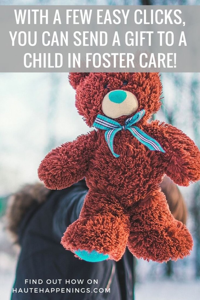 With a few simple clicks, you can send a gift to a child in foster care!