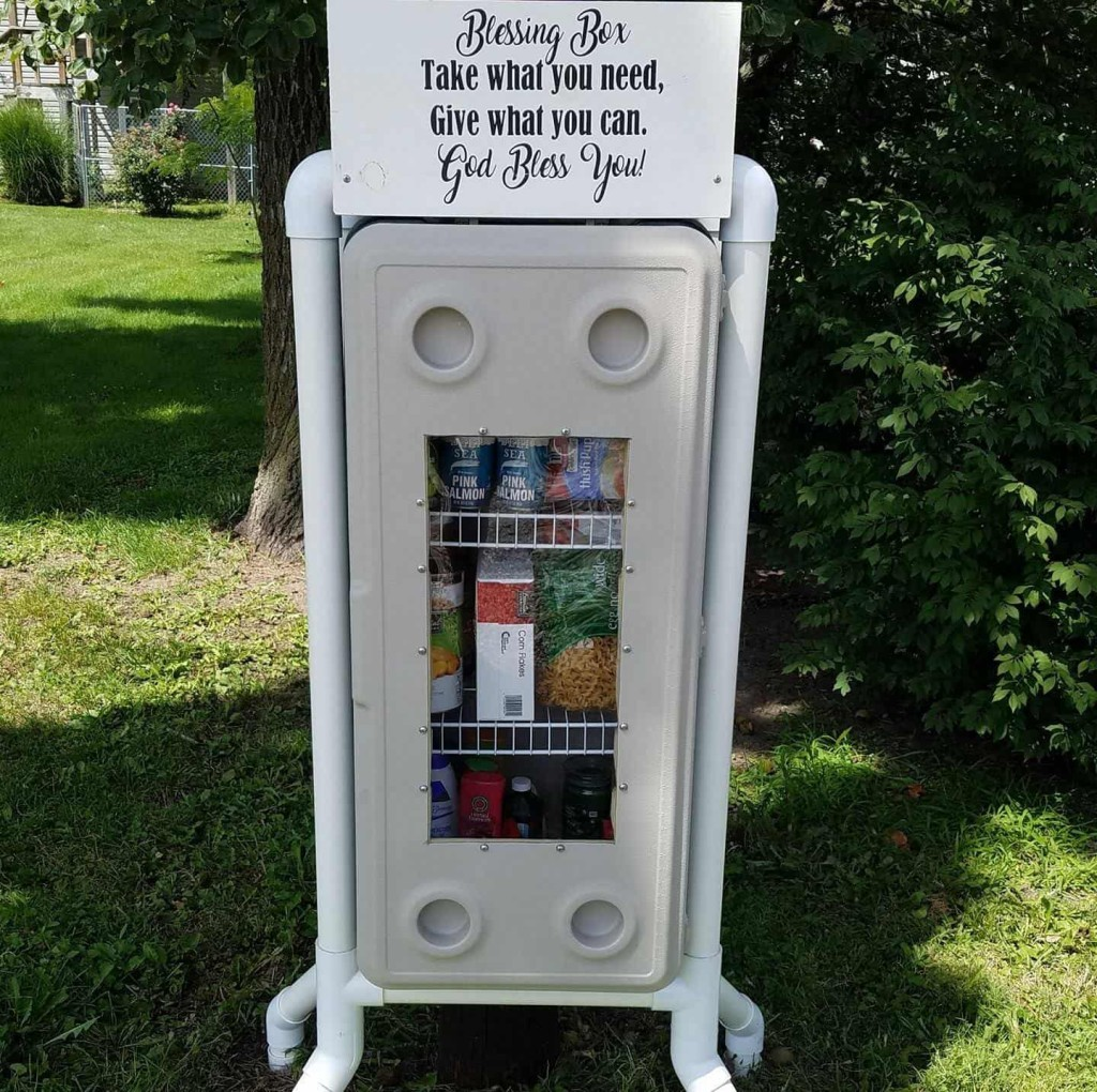 Clay County Blessing Boxes: Find out more on HauteHappenings.com