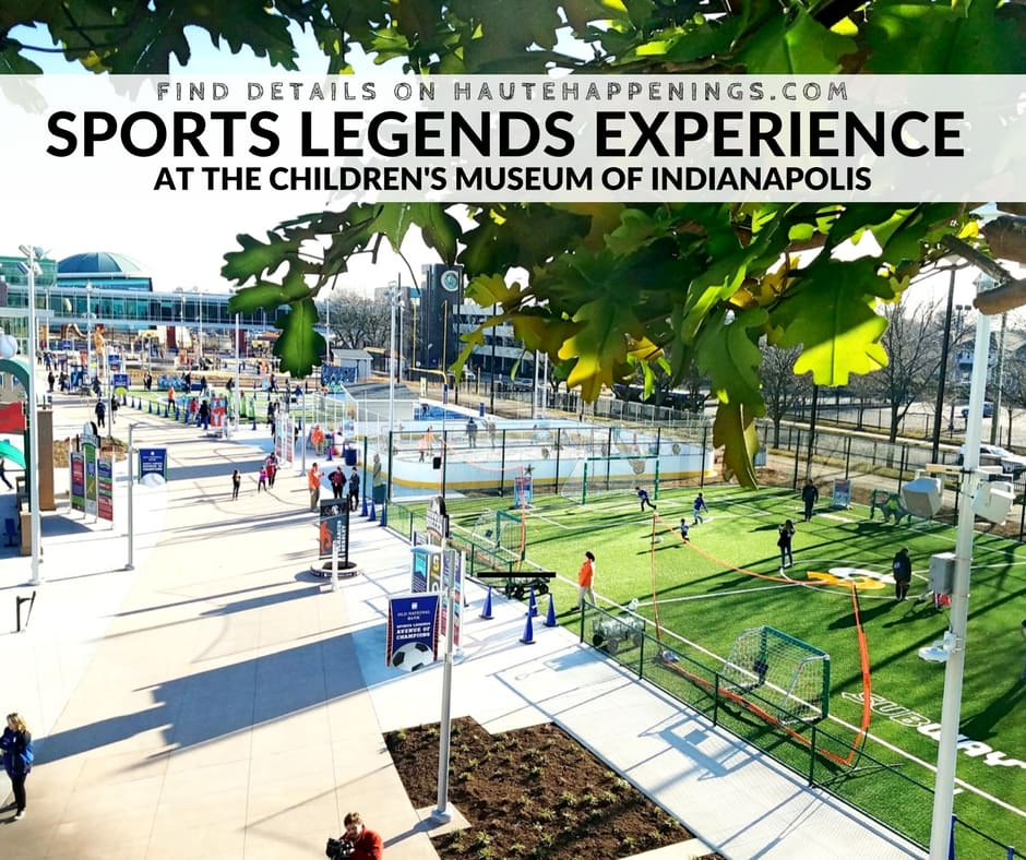 Legends Original Inside Sports: Children's Museum Of Indianapolis: Sports Legends Experience