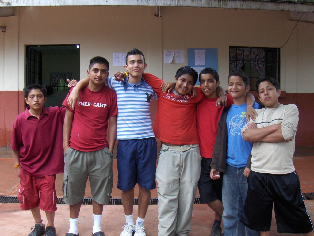 The boys at San Gabriel
