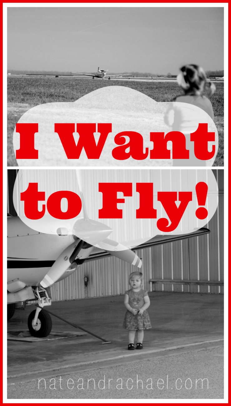 I want to fly! Encourage your little one's fascination and interest in airplanes with these tips from the family of a pilot-- nateandrachael.com