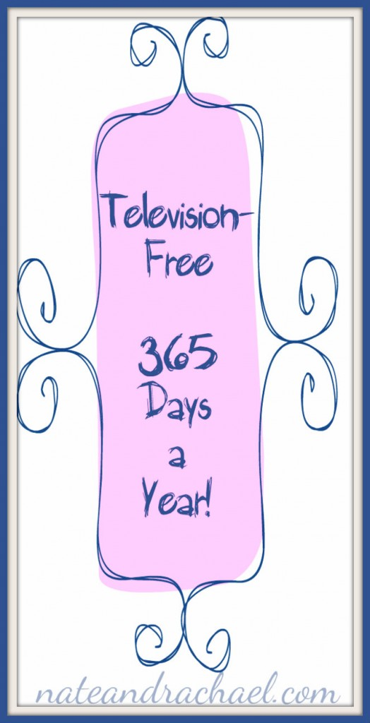 television-free lifestyle