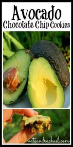 Healthy Chocolate Chip Cookies--Avocado