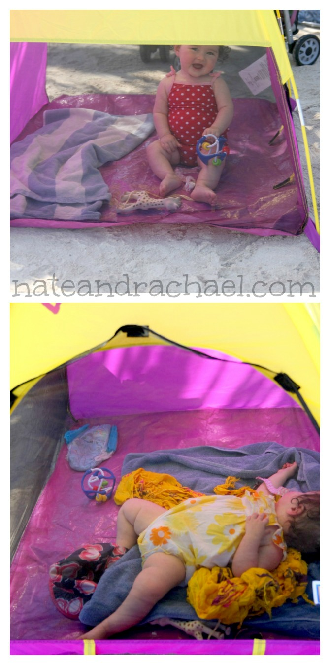 Baby Beach Tips For Taking To The : beach tent diy - memphite.com